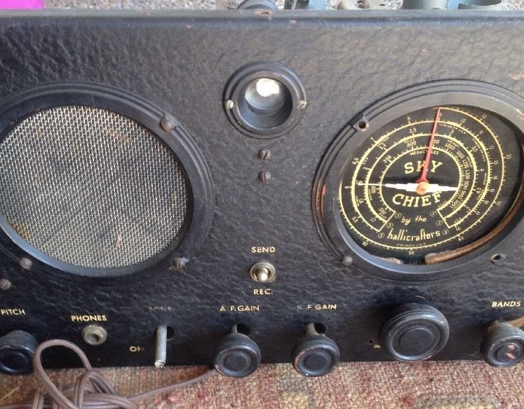 Details about HALLICRAFTERS SKY BUDDY TUBE HAM SHORT WAVE