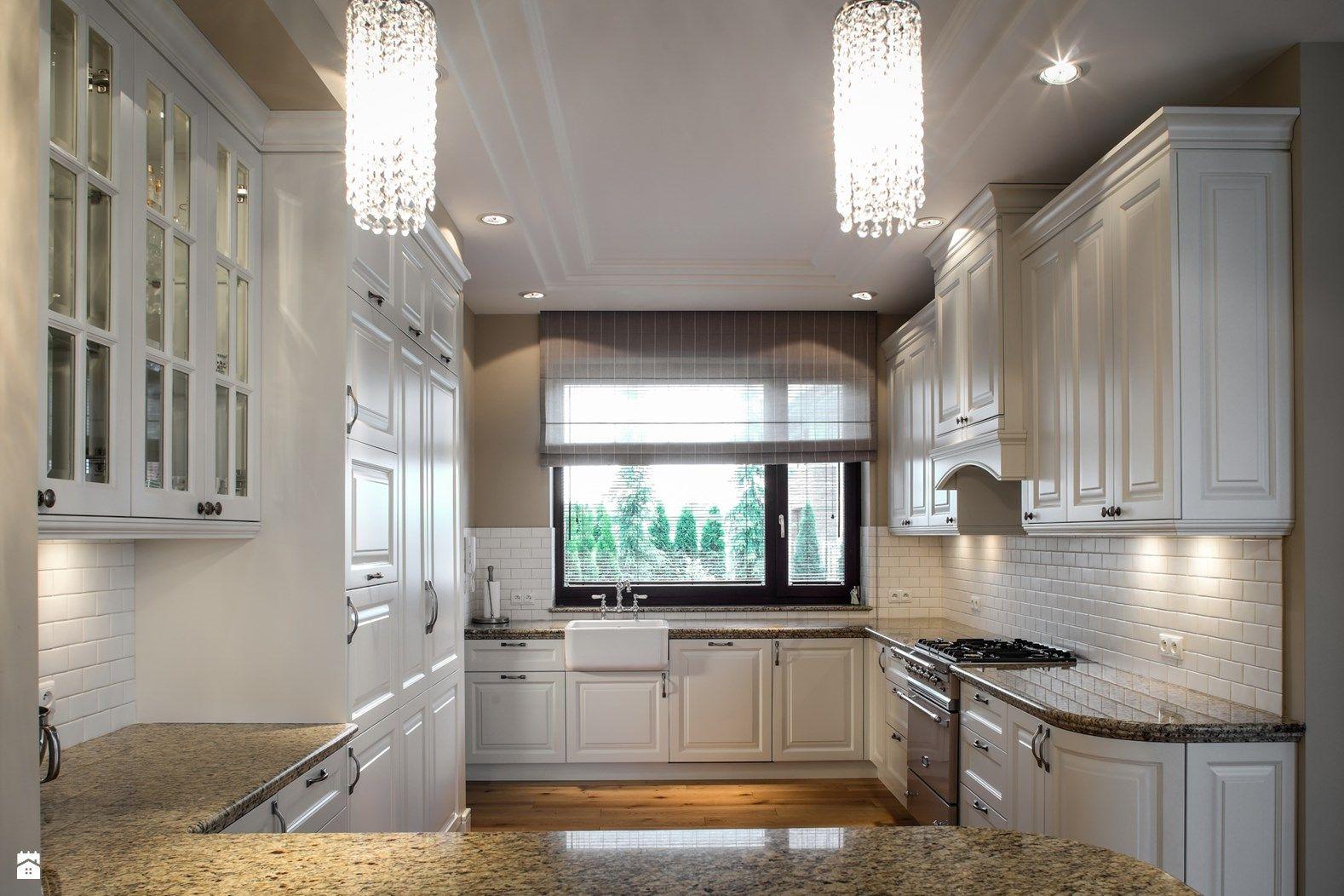 Otwarta kuchnia w bieli hola design homesquare - Kuchnia Styl Klasyczny Zdj Cie Od Rs Studio Projektowe Kuchnia Styl Klasyczny Rs