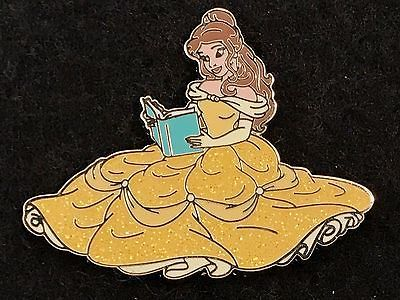 Disney Trading Pin Princess Belle Reading A Book Beauty And The