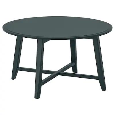 Kragsta Table Basse Bleu Vert Fonce Ikea En 2020 Table Basse Table De Salon Design Ikea