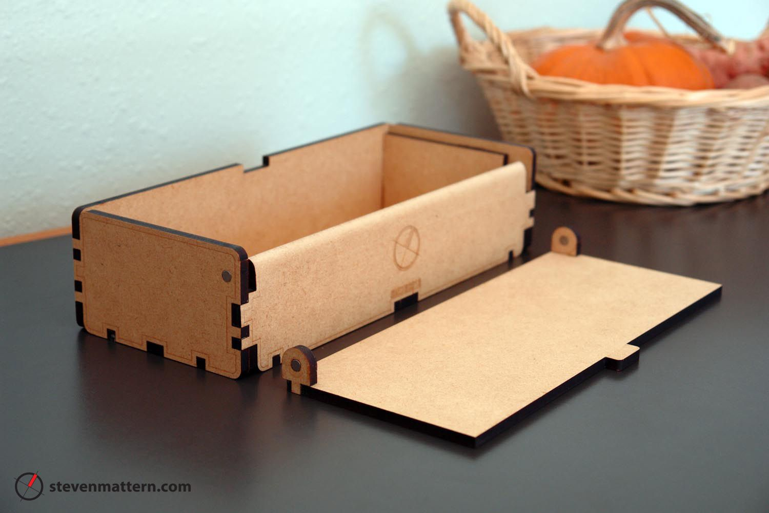 Magnetic Hinge Box - MDF | Boxes | Pinterest | Box, Laser cutting ... for Laser Cut Cardboard Box  599kxo