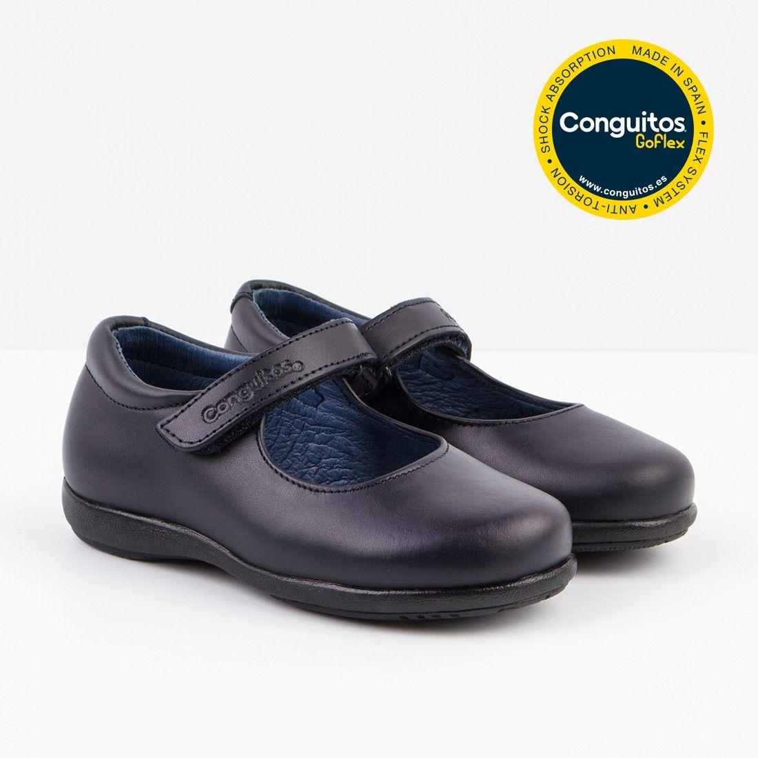 1f2d678f73b Calzado escolar cómodo: colegiales de niña Conguitos - Conguitos ...