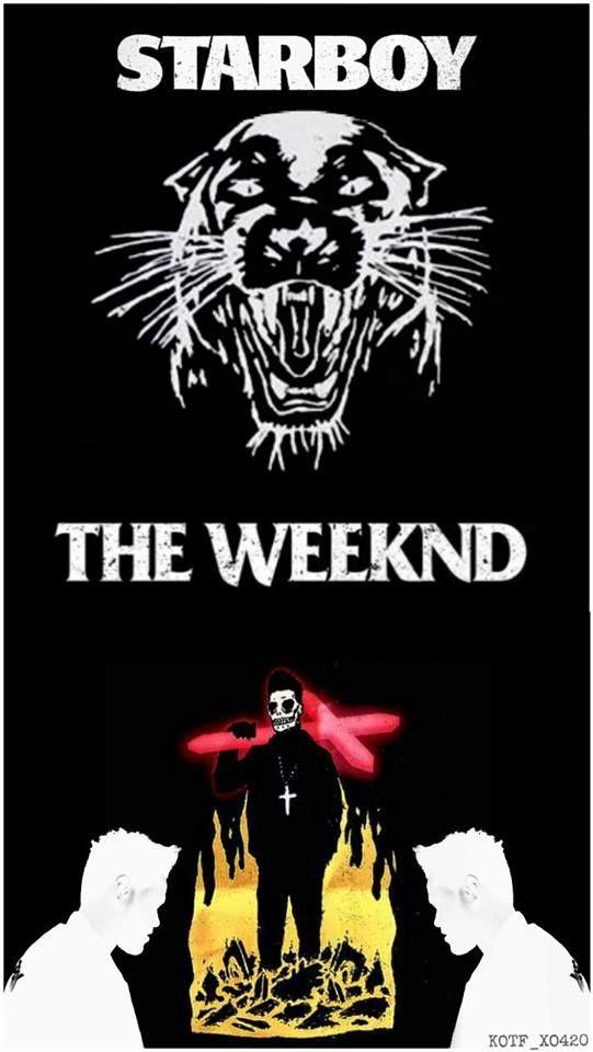 Starboy ! | The Weeknd | Pinterest | Daft punk, Rap music ...