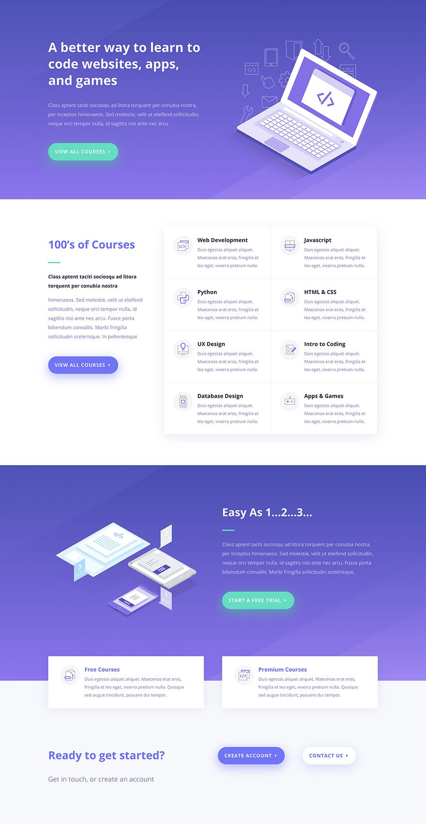 Download A Free Breathtaking Learning Management Lms Layout Pack For Divi Corporate Website Design Web Design Websites Web Design Logo