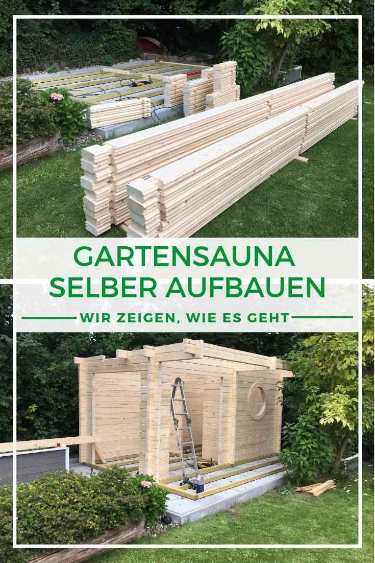 Sauna selber bauen In unserem Beitrag finden Sie eine