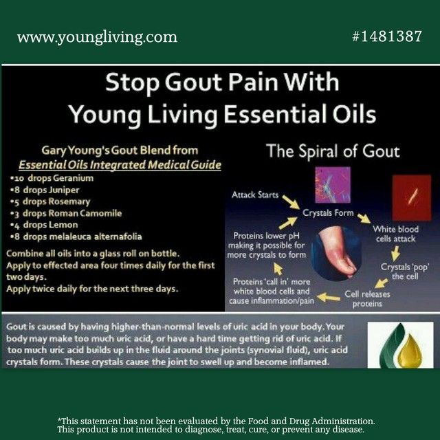 Young Living Essential Oils for Gout