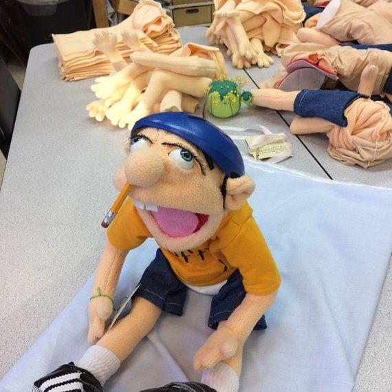 Jeffy Jeffy puppet made by Evelinka