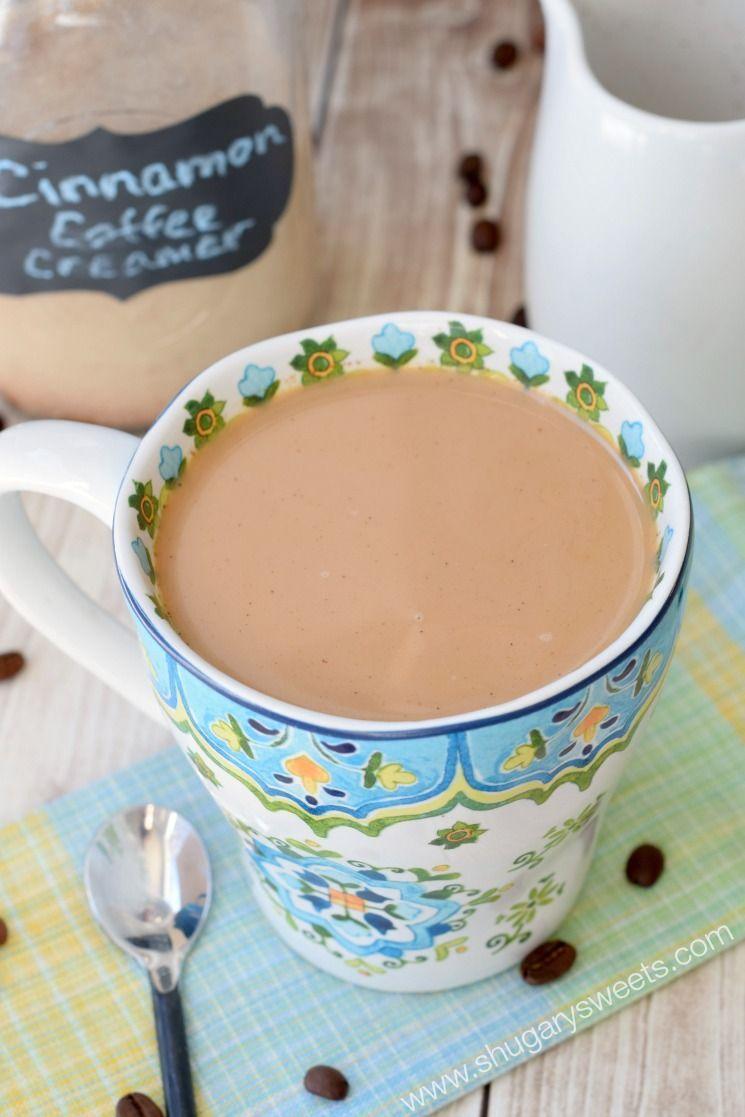 Cinnamon Coffee Creamer in 2020 Cinnamon coffee, Coffee