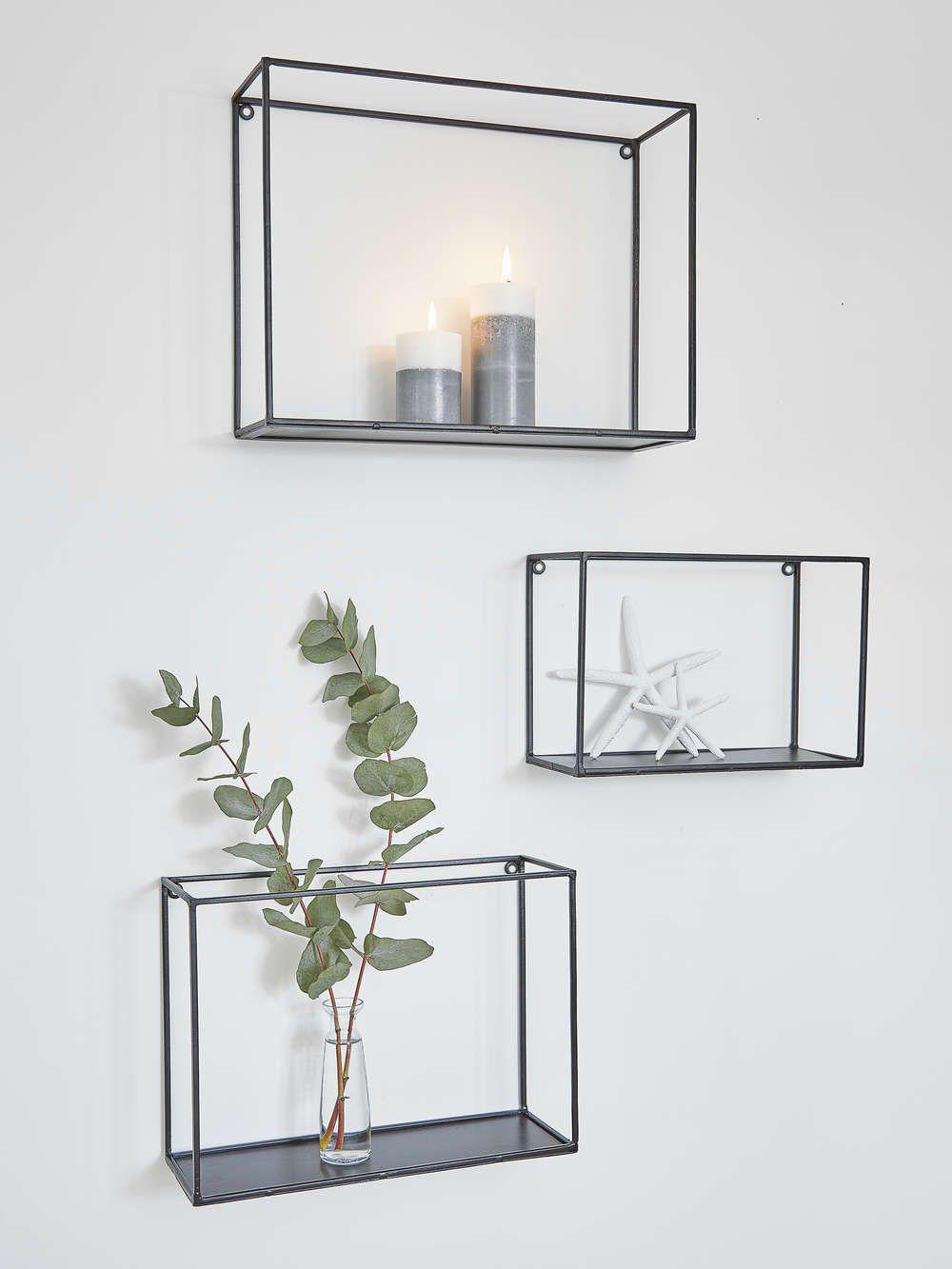 Metal Wall Rack Display Shelves Modern Shelf Small Shelf Metal Wall Shelves Living Room Diy Living Decor