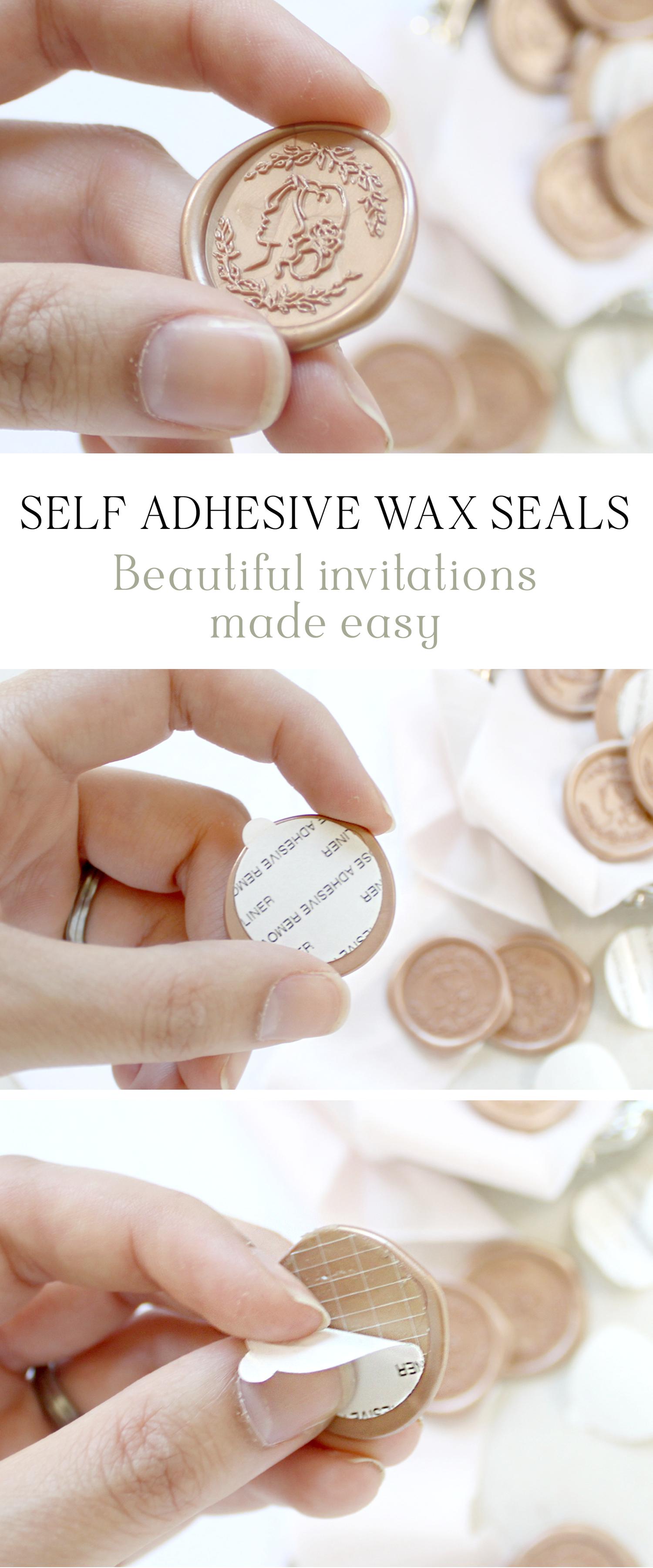 Custom Wax Seals for Wedding Invitations   Wax seals, Weddings and ...