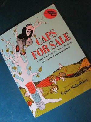 Kinder Days....: Caps For Sale FIAR Study