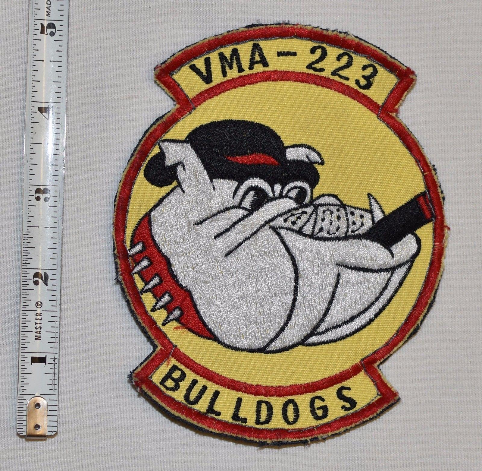 USMC VMA223 FLIGHT SUIT JACKET PATCH MARINE ATTACK