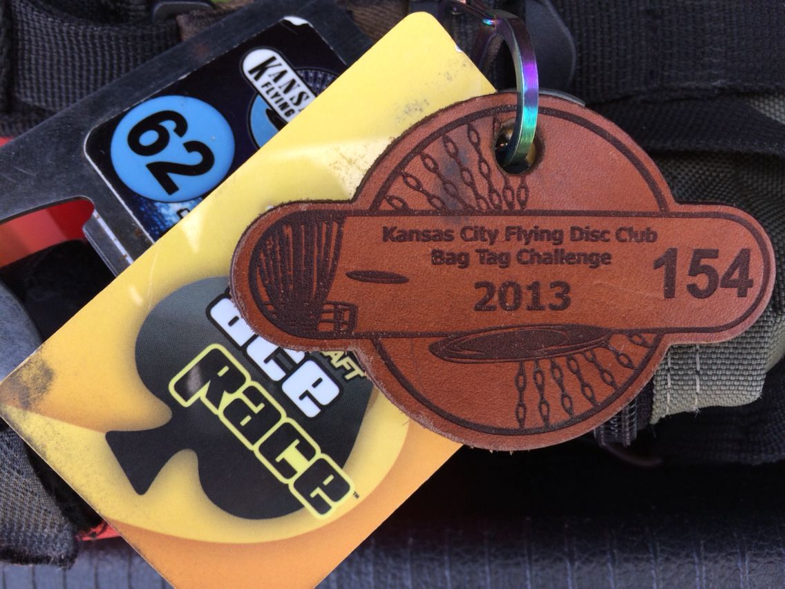Bag Tags Disc Golf Tag
