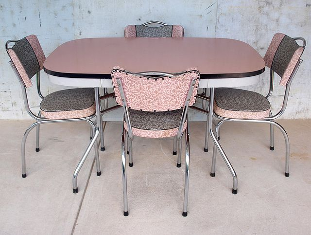 Office Cabin Interior Design, 1950s Retro Pink Laminex Kitchen Set Vintage Kitchen Table Retro Dining Room Chairs Retro Dining Rooms
