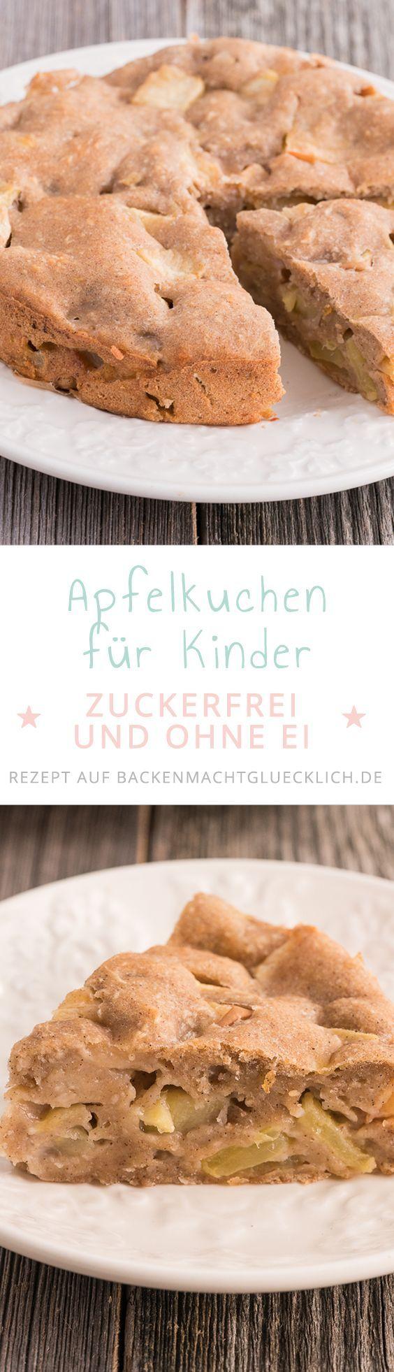 Apfelkuchen ohne Zucker, Butter, Ei   - Backen mit Kindern Rezepte - #Apfelkuchen #Backen #Butter #Kindern #mit #ohne #Rezepte #Zucker #applepie