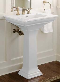 Kohler Memoirs 24 Pedestal Lavatory With Stately Design And 8