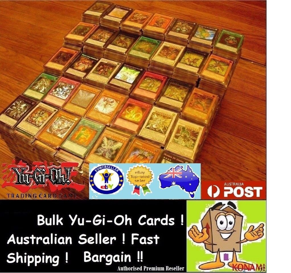 Yugioh Card Yu-Gi-Oh 100 Mixed Cards Lot With Rares /& Holofoil Mint Collection
