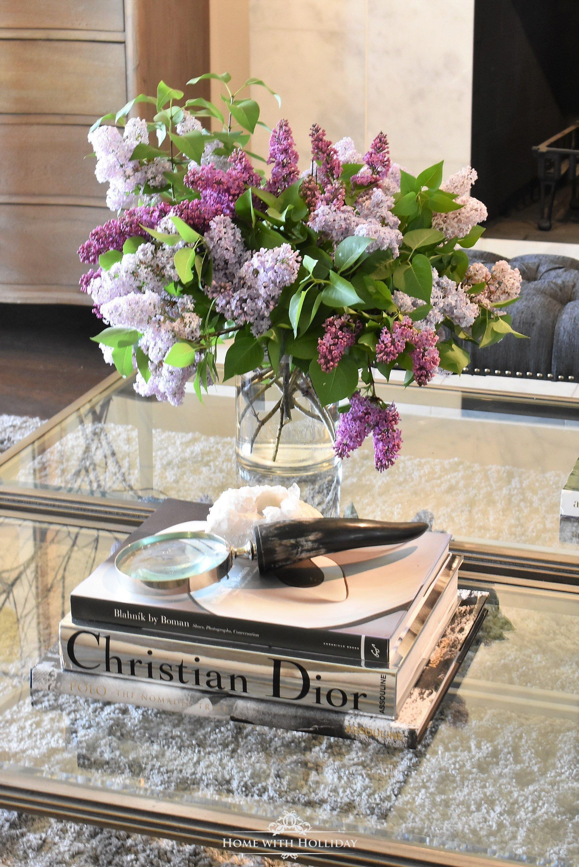 Pruning And Enjoying Lilacs Coffee Table Styling Home