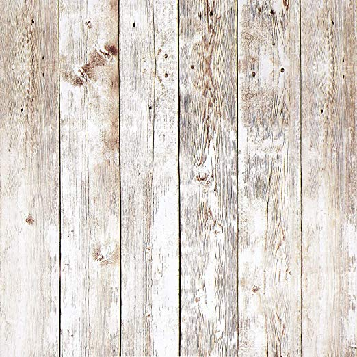 Heroad 17 8 X6 6 Self Adhesive Removable Wood Peel And Stick Wallpaper Decorative Wal Rustic Wood Wallpaper Reclaimed Wood Wallpaper Distressed Wood Wallpaper