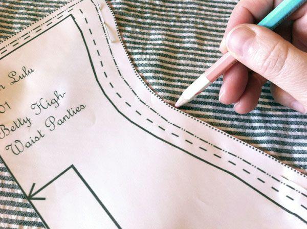 DIY sewing panties