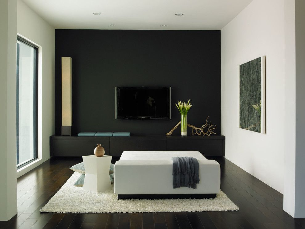 Dunn edwards paints paint colors walls black dea187 for Modern home colors interior