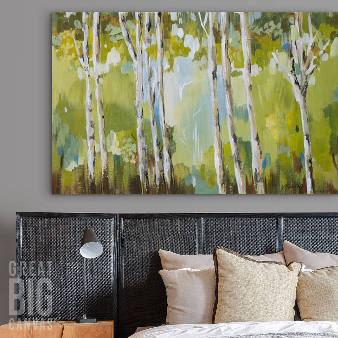 Green jungle wall art by valeria art from great big canvas