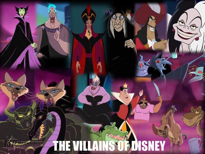 Disney Villains Wallpaper Disney Villains Wallpaper Disney Villains Disney Disney Villians