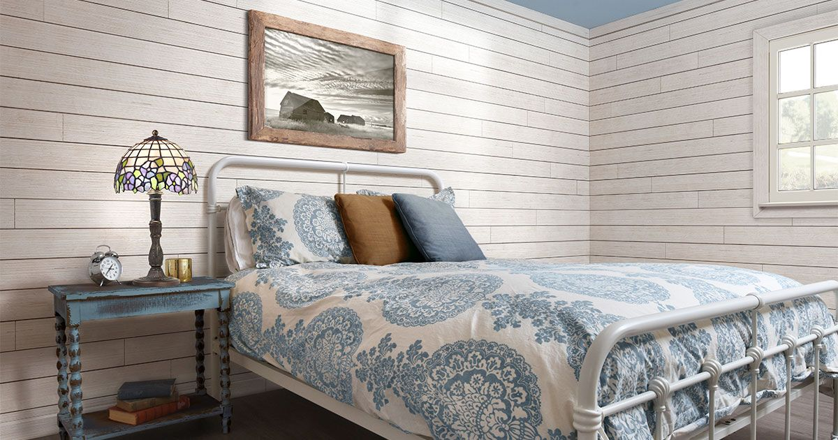 UFPEdge Rustic Collection in White Barn wood projects