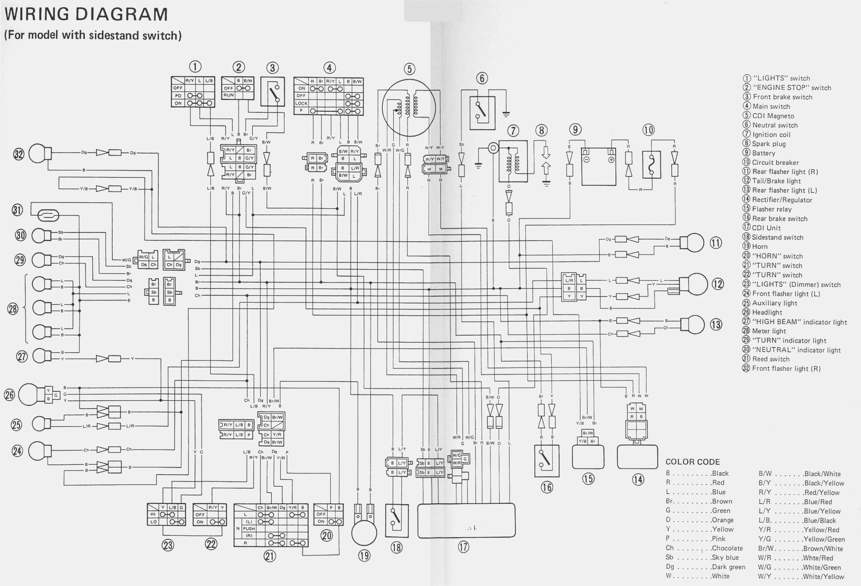 Yamaha Yfm350 Wiring Diagram - wiring diagram diode-proto -  diode-proto.salatinosimone.itsalatinosimone.it