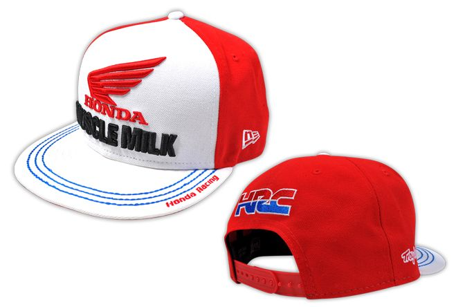 Troy Lee Designs - Honda Team Muscle Milk New Era Snap Back Hat  2812a00a0dc2