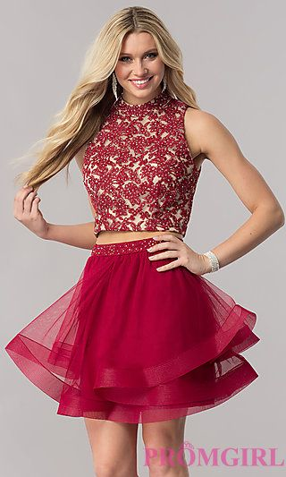 Short Semi Formal Homecoming Party Dresses Promgirl Winter