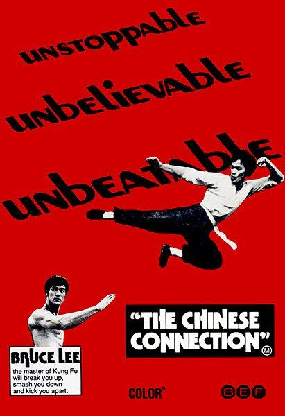 """/""""chinese connection/"""" bruce lee classic martial art film poster various"""