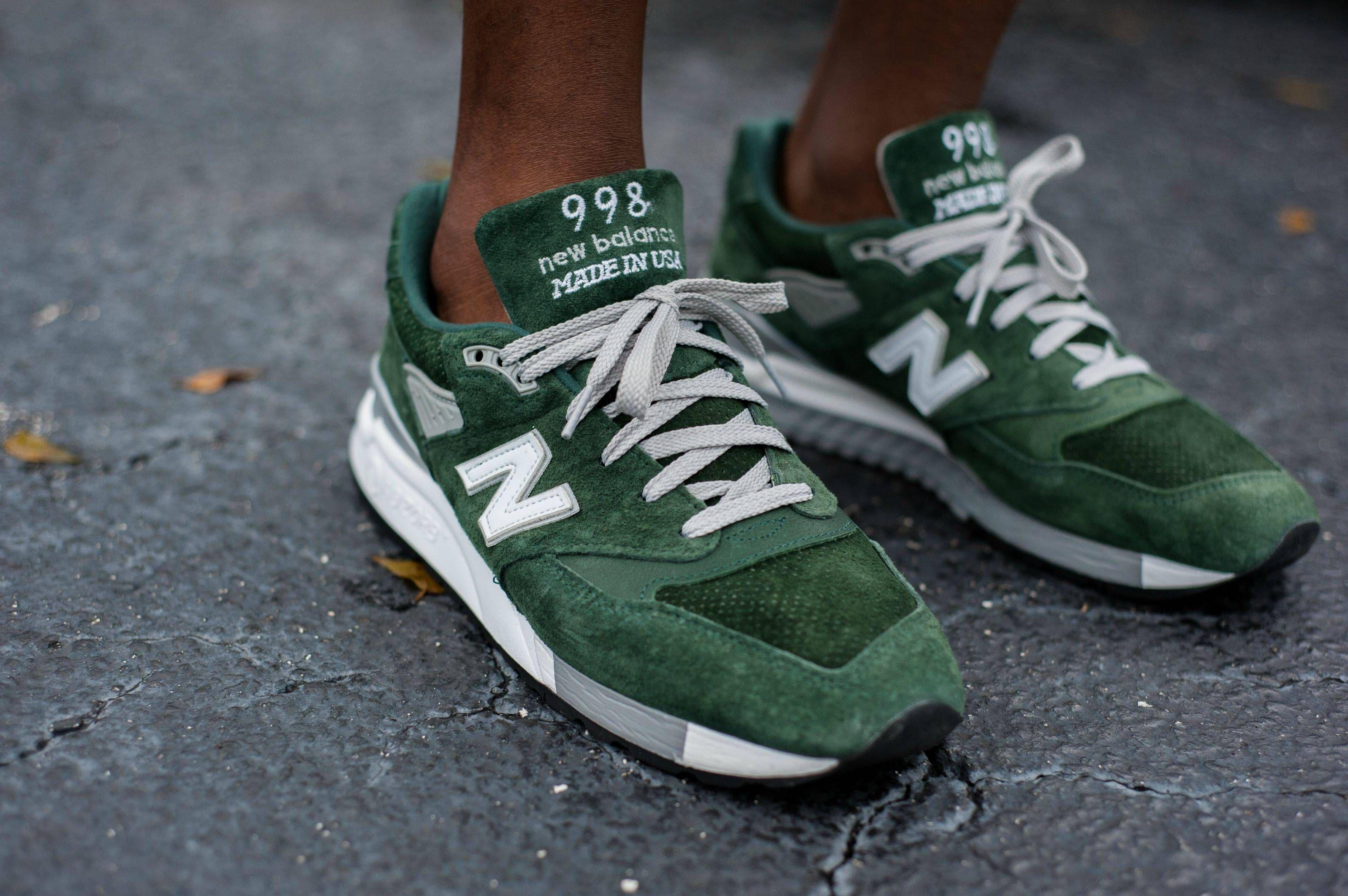 new balance 998 forest green