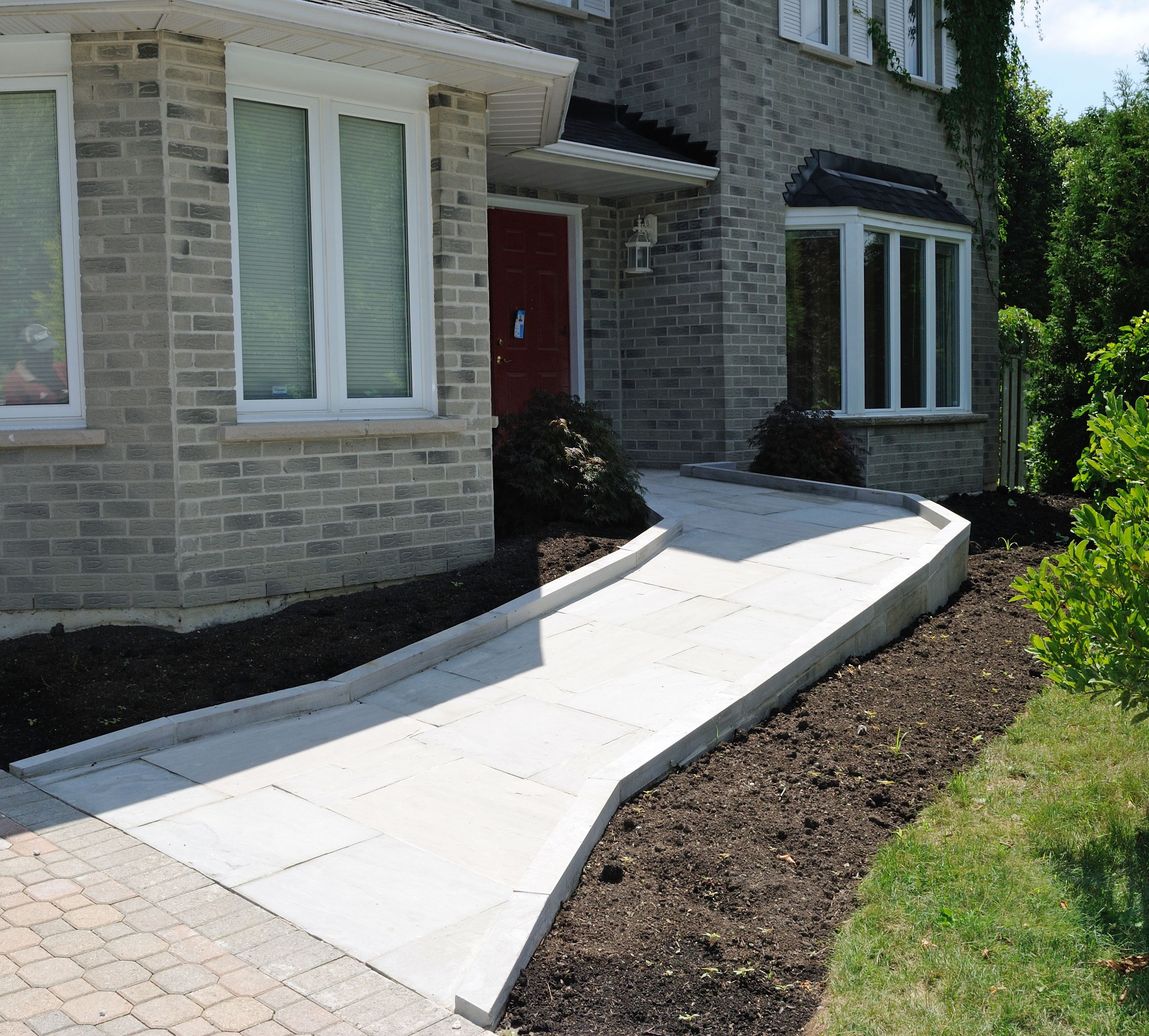 Reliable Living Services Wheelchair Ramp Accessible House Wheelchair Ramp Design