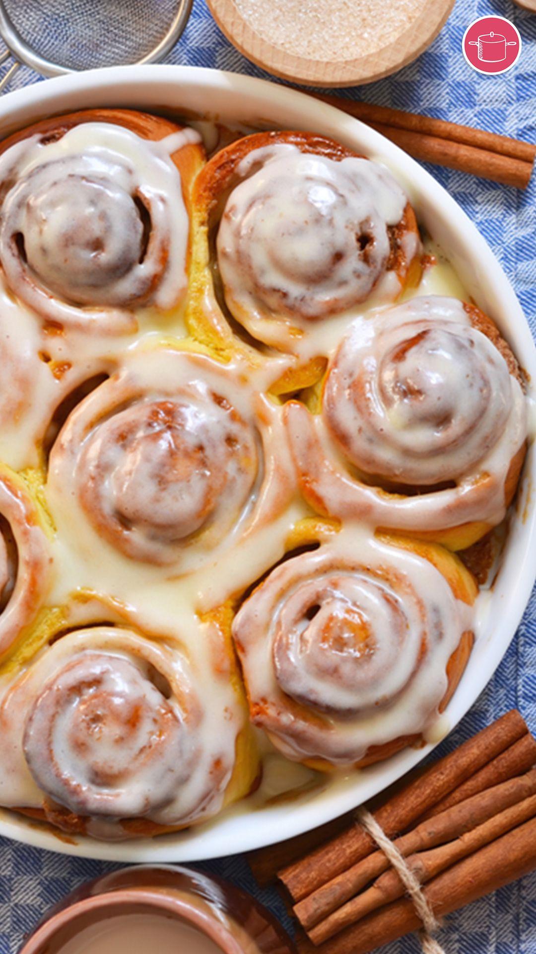 عجينة السينابون سريعه Recipe In 2021 Recipes Tasty