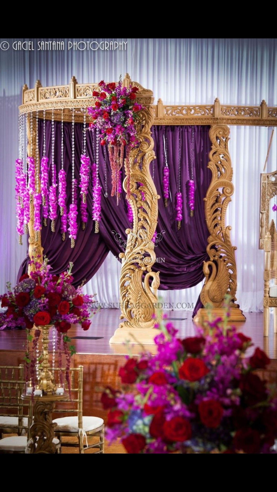 Wedding stage decoration delhi  Pin by Reena Kotecha on Wedding Decor  Pinterest  Wedding