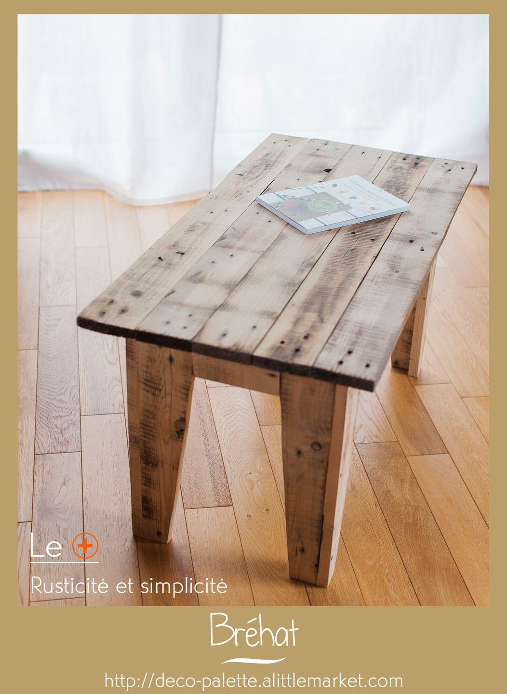 Table Basse Rustique En Bois De Palette Meubles Et Rangements Par Deco Palette Table Basse Table Pour Enfants En Bois Palette Bois
