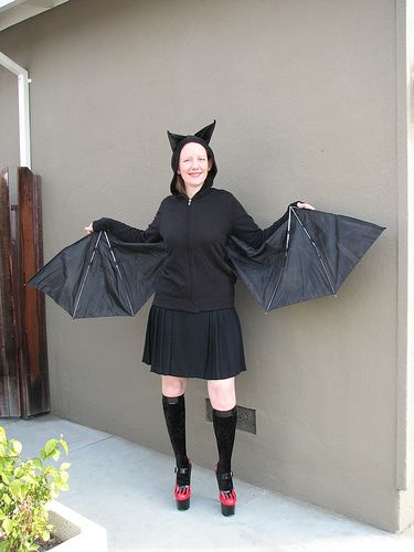 New Bat by oskay - how to make bat wings from an umbrella Costumes