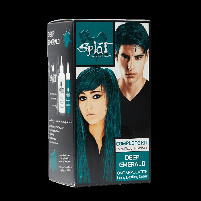 Vegan Cruelty Free Semi Permanent Hair Dye Kits Splat Hair Color Splat Hair Dye Dyed Hair Splat Hair Color