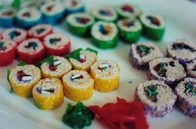 "Candy sushi is made like regular sushi, but use fruit roll-ups, Rice Krispy ""dough"" and gummy candy, such as jelly worms. #candysushi Candy sushi is made like regular sushi, but use fruit roll-ups, Rice Krispy ""dough"" and gummy candy, such as jelly worms. #candysushi Candy sushi is made like regular sushi, but use fruit roll-ups, Rice Krispy ""dough"" and gummy candy, such as jelly worms. #candysushi Candy sushi is made like regular sushi, but use fruit roll-ups, Rice Krispy ""dough� #candysushi"