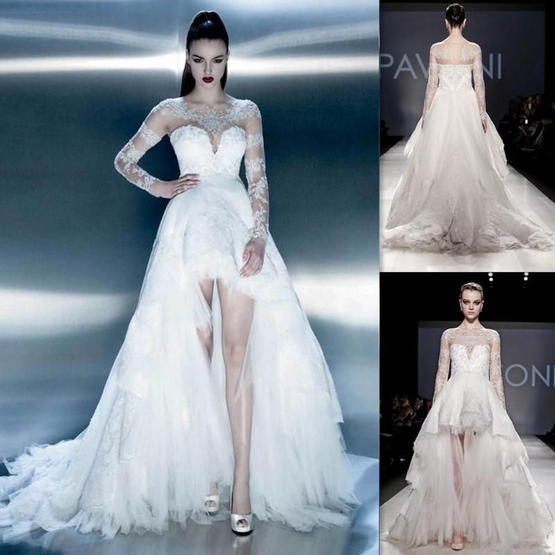 wedding dresses long and sort