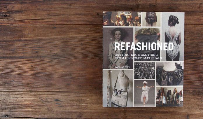Sass Brown's ReFashioned: Cutting Edge Clothing From Upcycled Materials, is the second in a series focusing on the eco-fashion movement. Includes a foreward by Natalie Chanin.