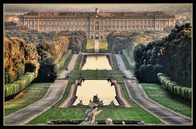 The majestic Royal Palace of Caserta