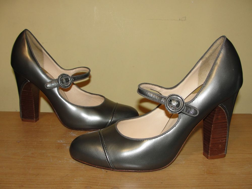 8d9f6fc1b11 Cole Haan Nike Air Womens Shoes Gray Leather Mary Jane Pumps Heels Size 10B   ColeHaan  MaryJanes  WeartoWorkEvening