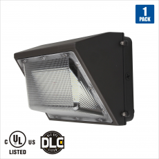 60w Wall Pack Light 300w Hps Hid Replacement 5000k Crystal White Glow 6000 Lumen Oncall Led Ul Listed Wall Packs Packing Light Led