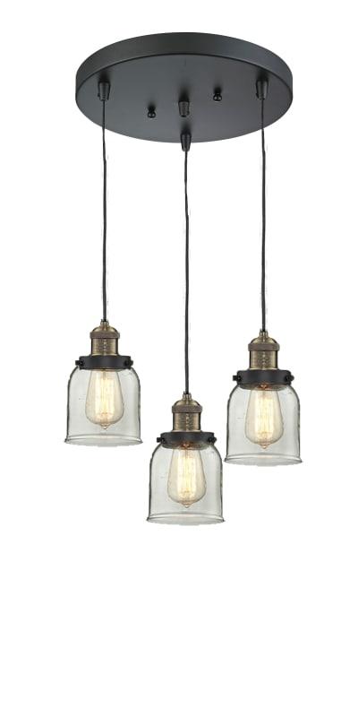 Innovations Lighting 211 3 Small Bell Multi Light Pendant Ceiling Lights Lighting