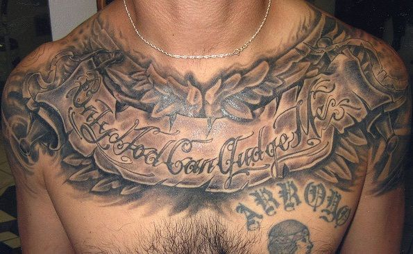 Cool Masculine Male Tattoo Ideas Fanphobia Celebrities Database Chest Tattoo Men Chest Tattoo Quotes Full Chest Tattoos