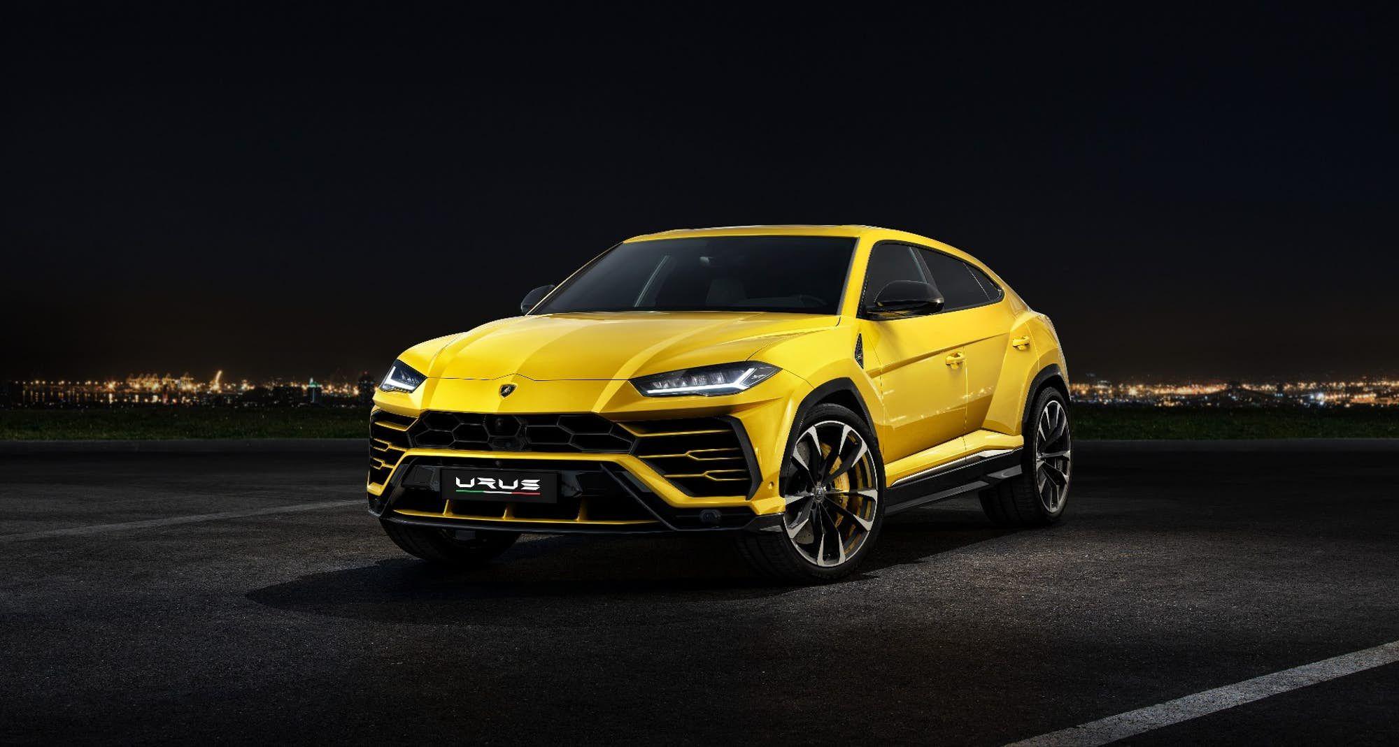brands its Urus the first Super SUV Luxury