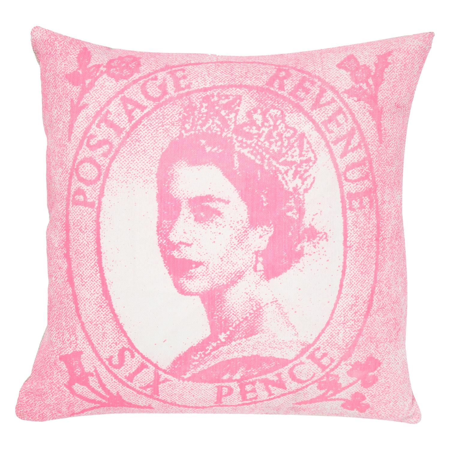Queen Stamp Cushion   National Gallery Shop   Charity ...