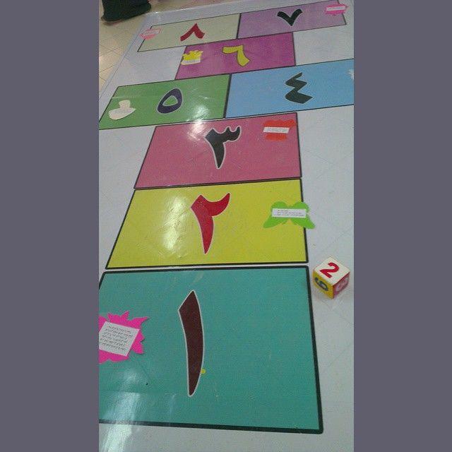 Fato Abduallah K On Instagram درسي التطبيقي الأول لعبة الخطة وقد طبقت في مراجعة الدرس السابق Preschool Color Activities Abc Learning Games Preschool Colors